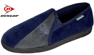 Dunlop Winston II Slippers Navy/Grey